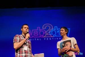 Moi et Adrien Pogetti, directeur général du Web2Day