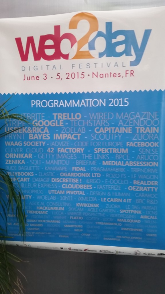 La programmation du We2Day