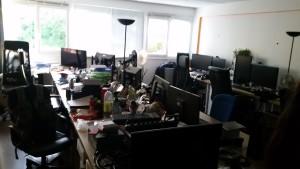 Les bureaux de DayDreamer, pas mal pour une jeune startup