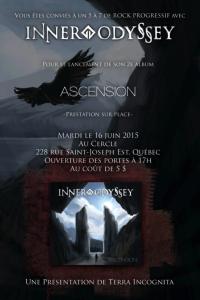 Affiche du lancement de l'album Ascension illustrée par Kevin Stapleton
