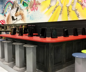 bar à iPad